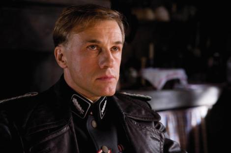 Christoph Waltz (Colonel Landa) stars in Quentin Tarantino's INGLOURIOUS BASTERDS.